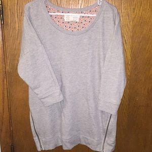 Anthro sweatshirt